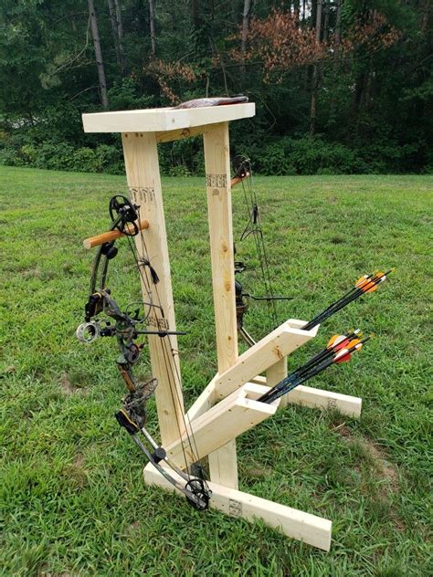 Diy Field Bow Stands