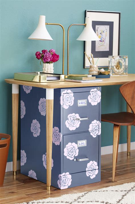 Diy File Cabinet Decor