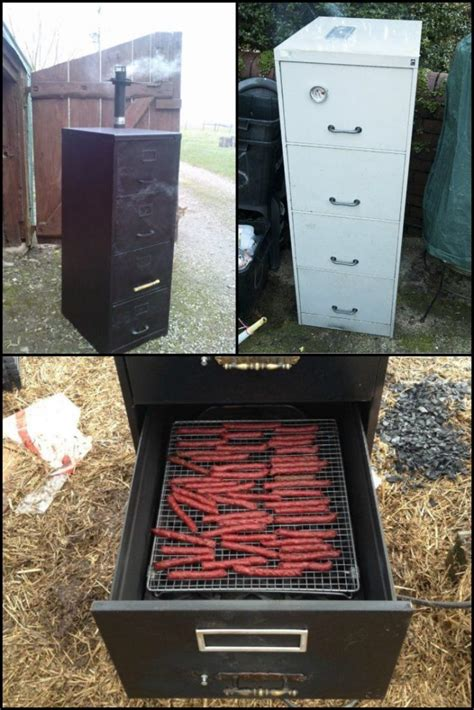 Diy File Cabinet Electric Smoker