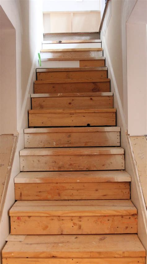 Diy Finish Basement Stairs