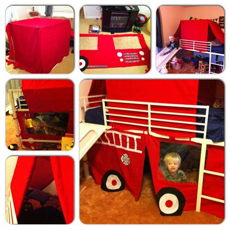 Diy Fire Engine Bed Tent