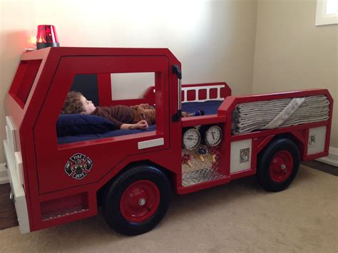 Diy Fire Engine Bedding