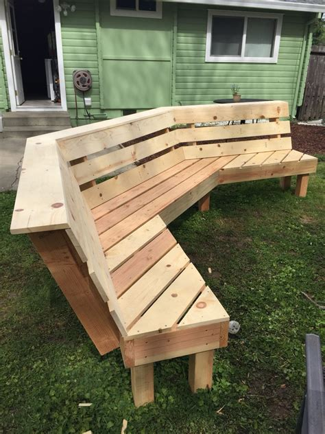 Diy Fire Pit Bench Plans With Measurements