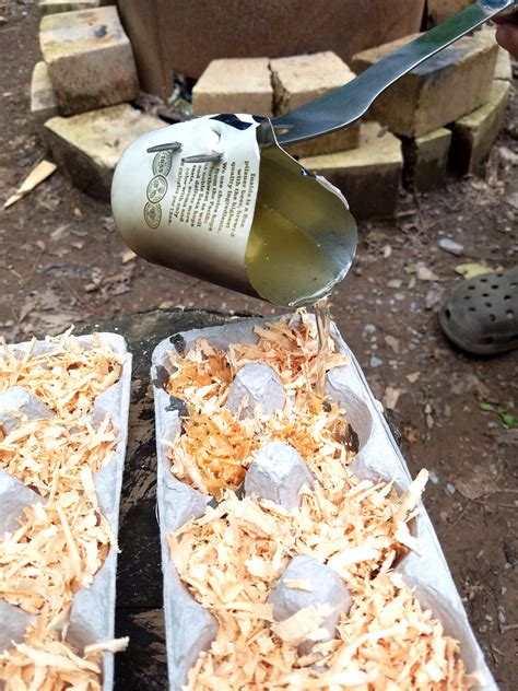 Diy Fire Starter Logs