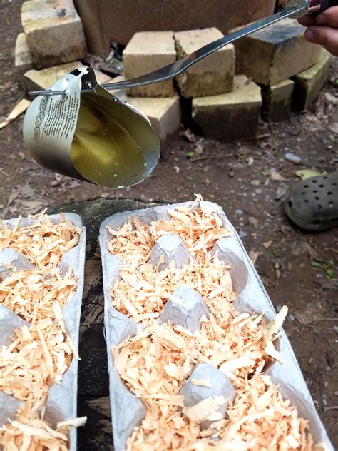 Diy Fire Starter Logs Burn