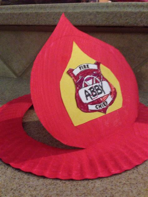 Diy Firefighter Hat
