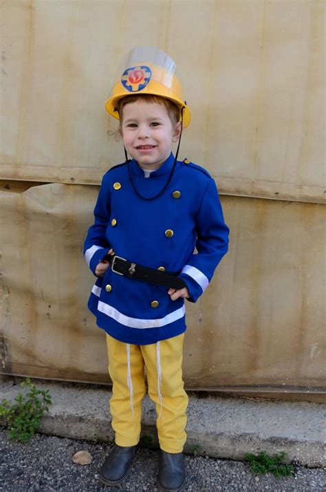 Diy Fireman Sam Costume