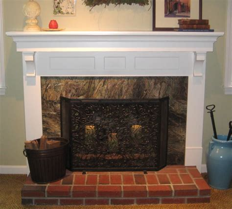Diy Fireplace Mantel Kit