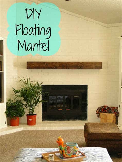 Diy Fireplace Mantels Floating