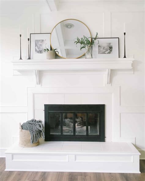 Diy Fireplace Surround With Storage