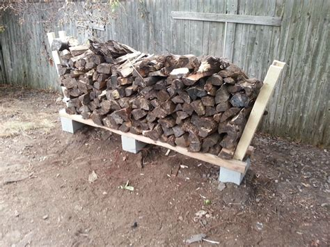 Diy Firewood Rack Steel