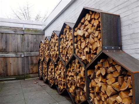 Diy Firewood Shed Rack