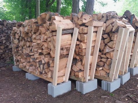 Diy Firewood Storage 4x4