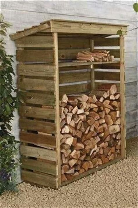 Diy Firewood Storage Rack Using Pallets