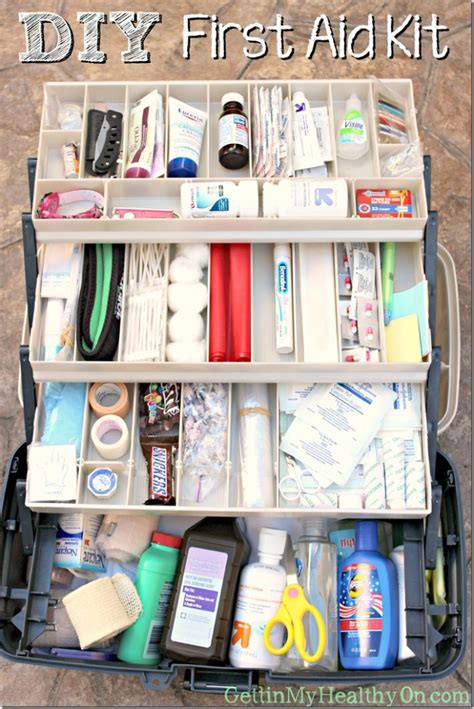 Diy First Aid Kit List