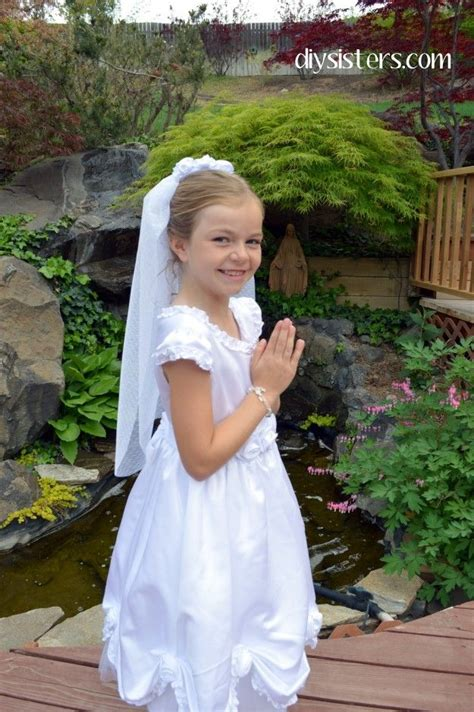 Diy First Communion Dress
