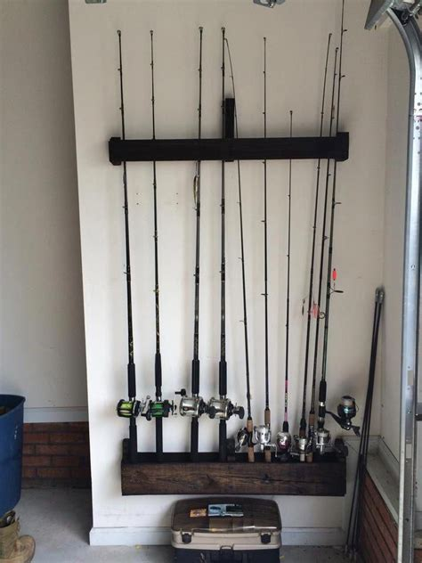 Diy Fish Rod Rack