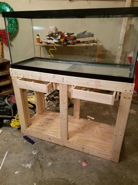 Diy Fish Tank Stands 75 Gallon