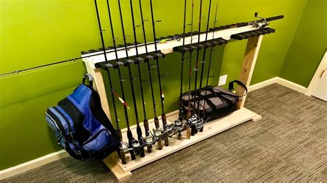 Diy Fishing Rod Racks For Home