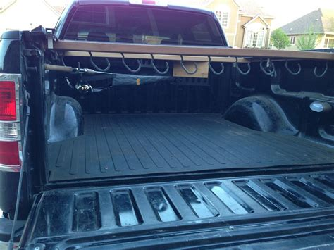 Diy Fishing Rods Storage In Pickup