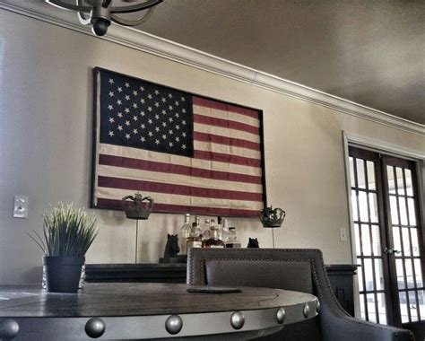 Diy Flag Frame