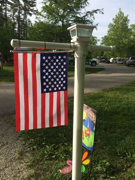 Diy Flag Pole Base