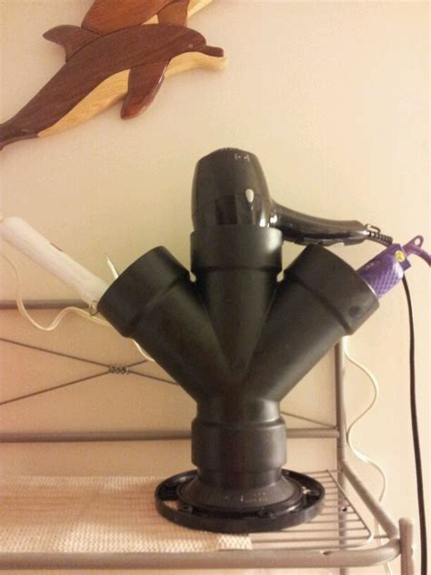 Diy Flat Iron And Blower Holder