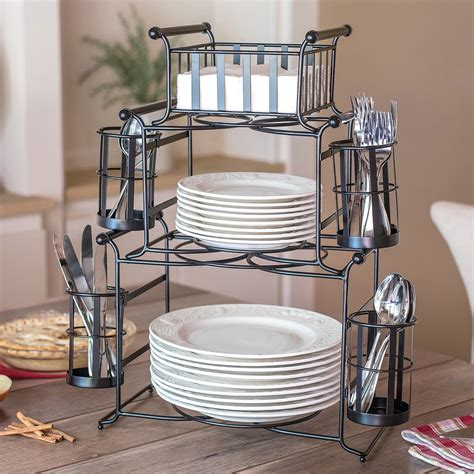Diy Flatware Holder For Buffet
