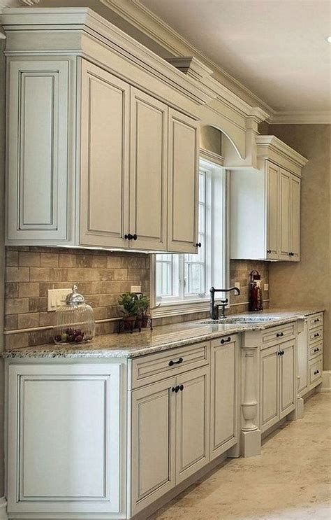 Diy Flexible Trim Molding For Kitchen Cabinets With Glass