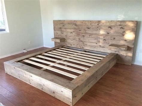 Diy Floating Bed Frame No Box Springs