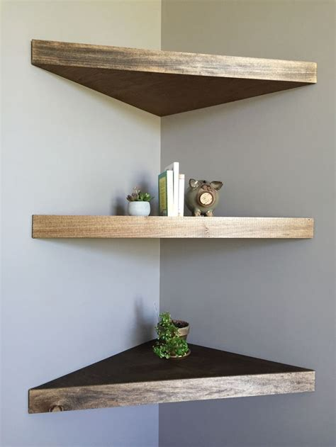 Diy Floating Corner Shelves For Television