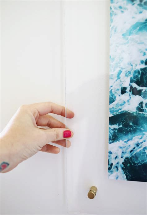 Diy Floating Frame Acrylic Photographs