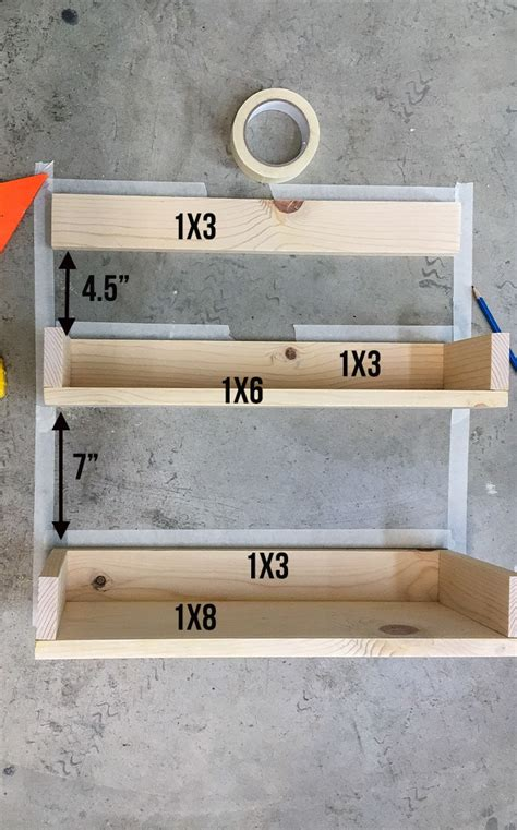Diy Floating Ladder Shelf Plans