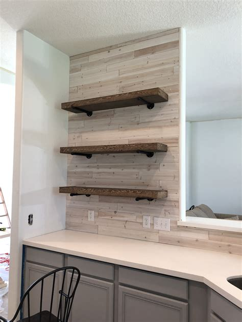 Diy Floating Pipe Bookcase