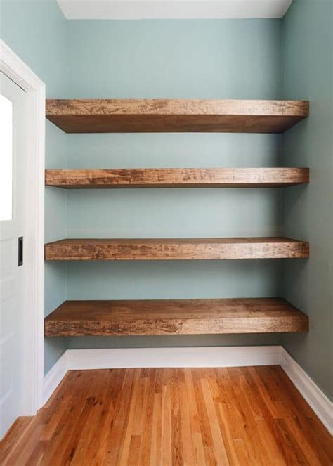 Diy Floating Shelves Easy To Install