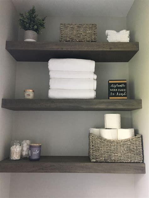 Diy Floating Shelves For Bathroom