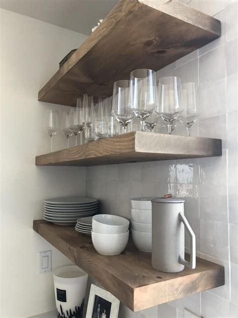 Diy Floating Shelves Solid Pine