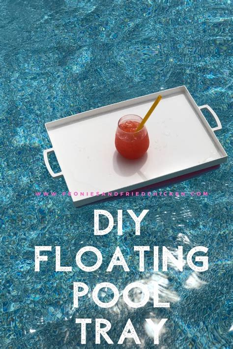Diy Floating Table For Pool