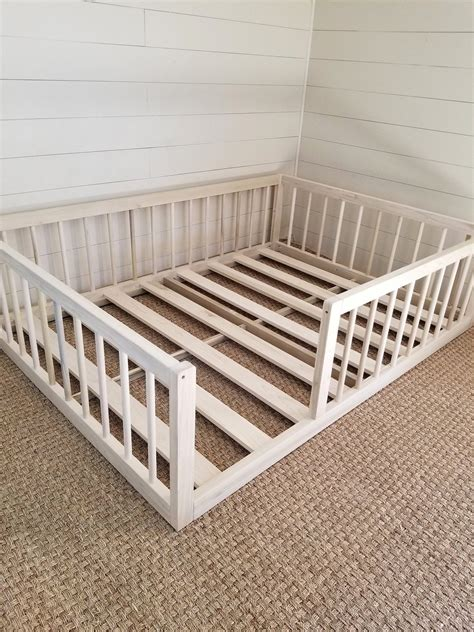 Diy Floor Bed Toddler