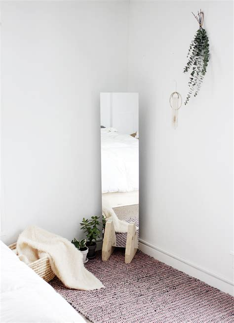 Diy Floor Mirror Stand