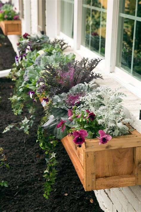 Diy Flower Bed Box