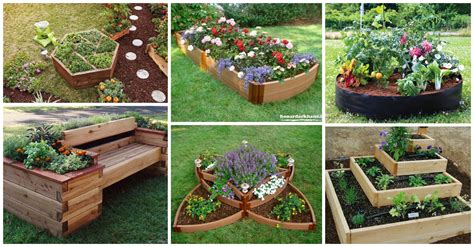 Diy Flower Bed Cur