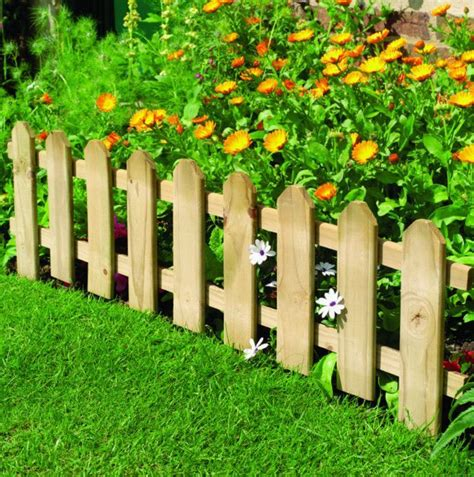 Diy Flower Bed Fencing Ideas