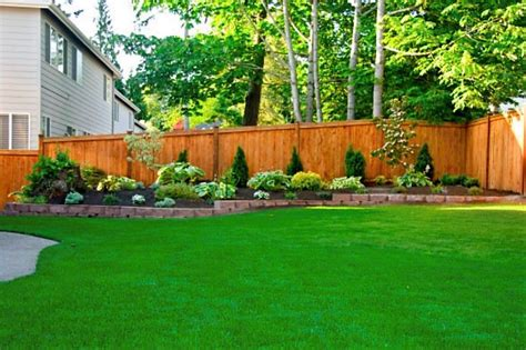 Diy Flower Bed Ideas Along Back Fence