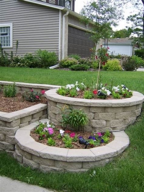 Diy Flower Bed Ideas Pinterest