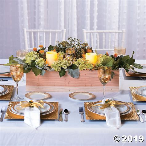 Diy Flower Box Centerpieces