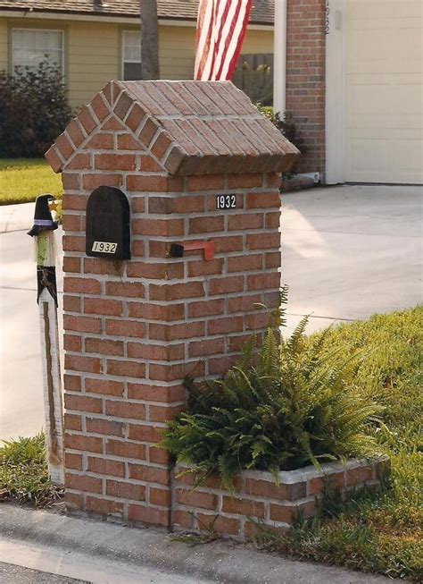 Diy Flower Boxes For Brick Mailboxes