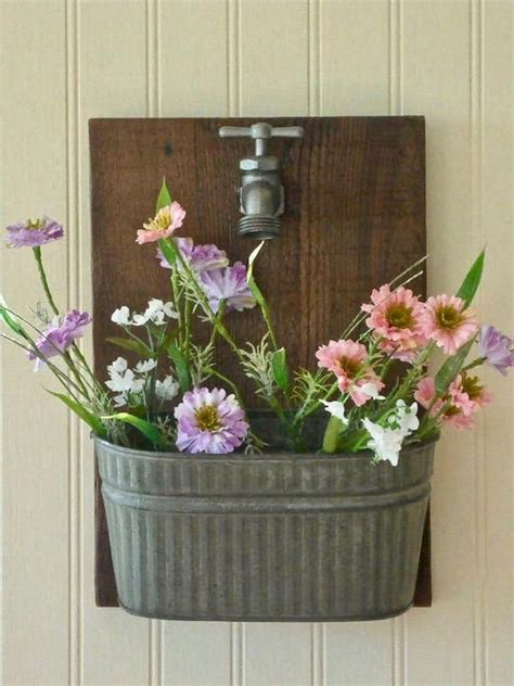 Diy Flower Planters From Vintage Items