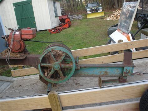 Diy Flywheel Log Splitter