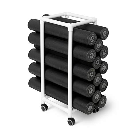 Diy Foam Roller Rack
